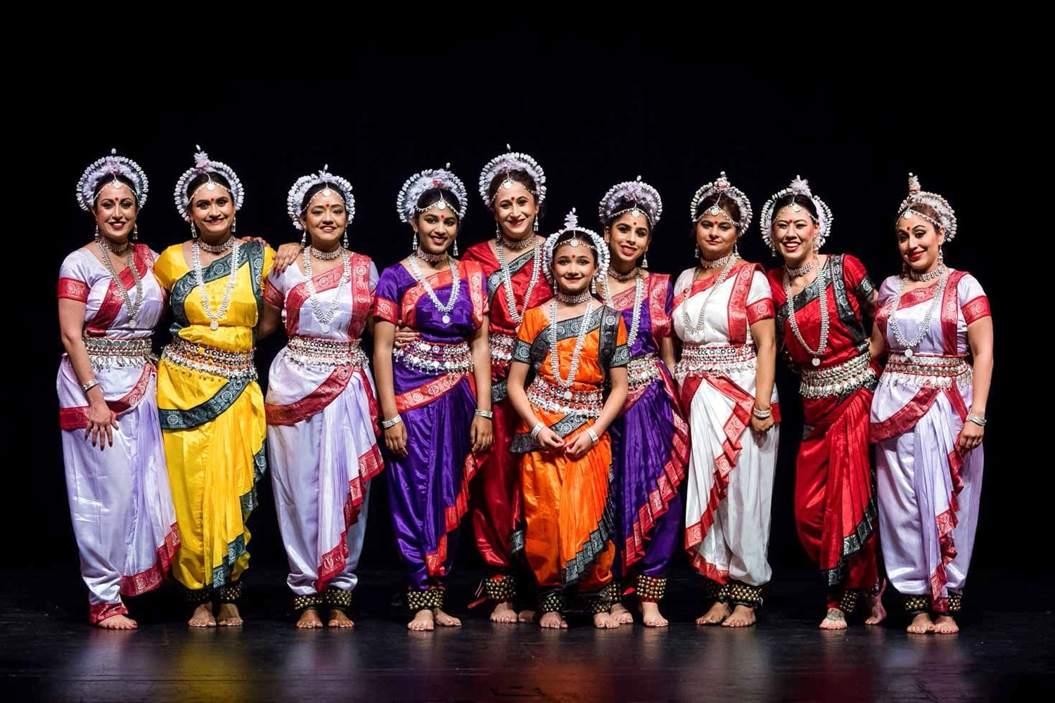 Odissi Dance Performers